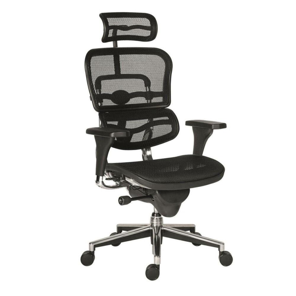 ANTARES Ergohuman mesh hálós irodai szék - fekete