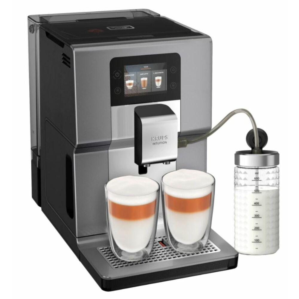 Krups EA875E10 Intuition Preference Automata kávéfőző tejtartállyal