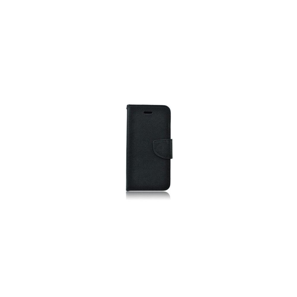 Nokia 7 Plus oldalra nyíló flip tok, fekete