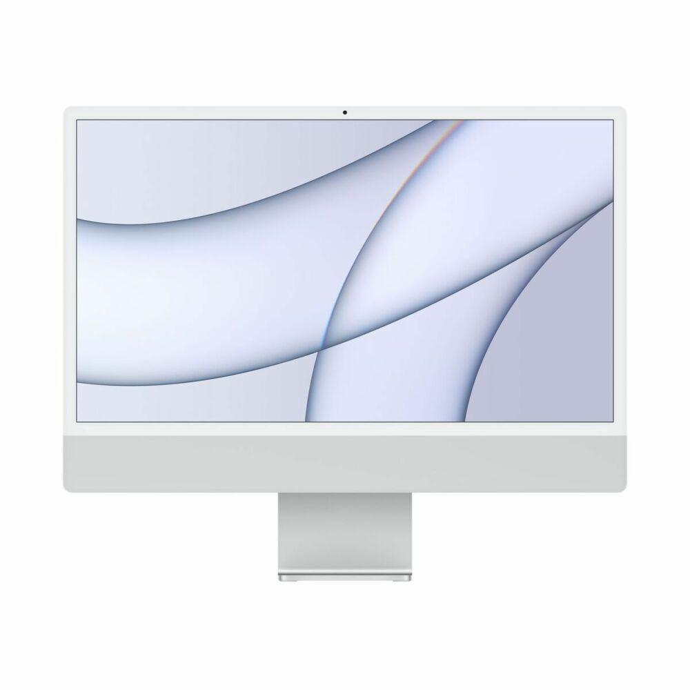 "Apple iMac 24"" Retina, 4.5K, M1 8C CPU/8C GPU, 8GB/256GB - Ezüst (2021) MGPC3MG/A"