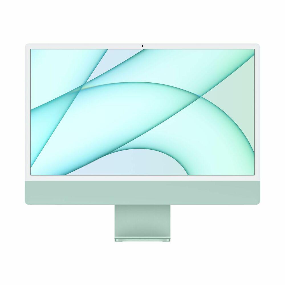 "Apple iMac 24"" Retina, 4.5K, M1 8C CPU/7C GPU, 8GB/256GB - Zöld (2021) MJV83MG/A"