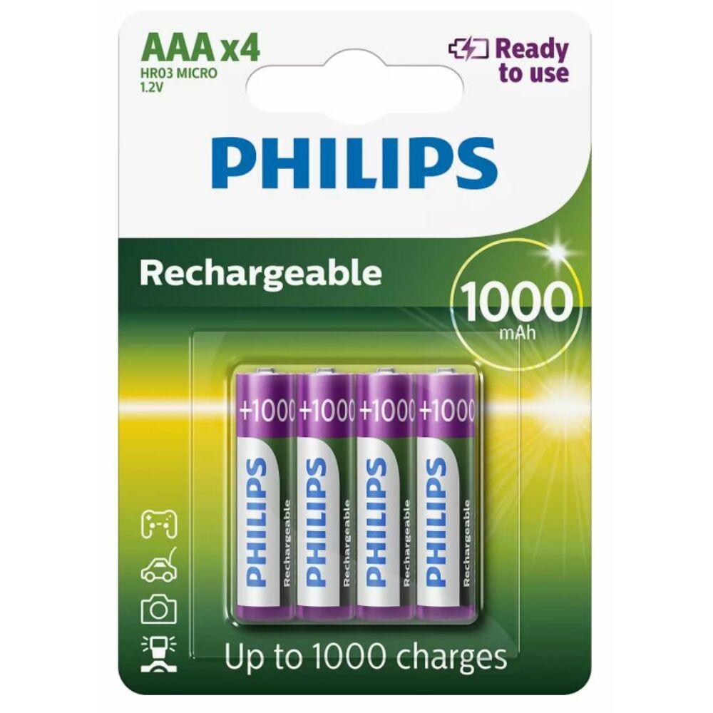 Philips R03B4RTU10 4 darab