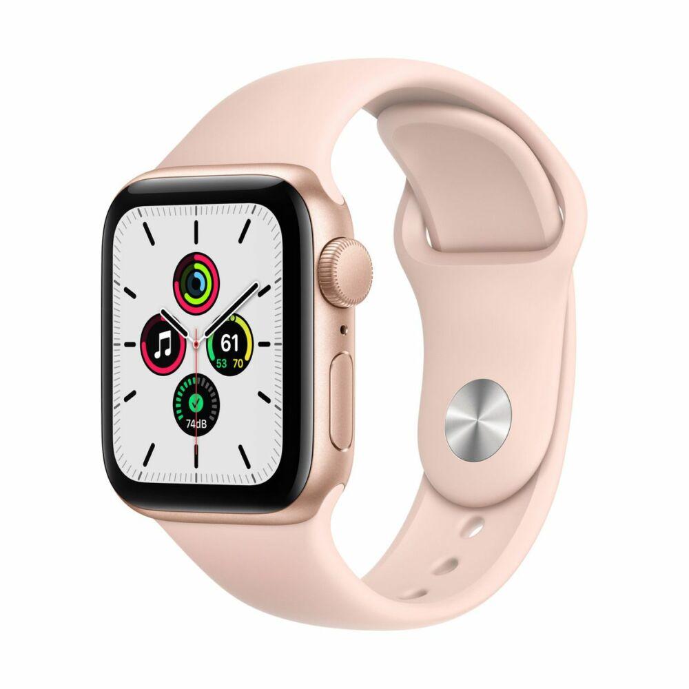 Apple Watch SE GPS 40mm Arany alumínium tok - sportszíjjal