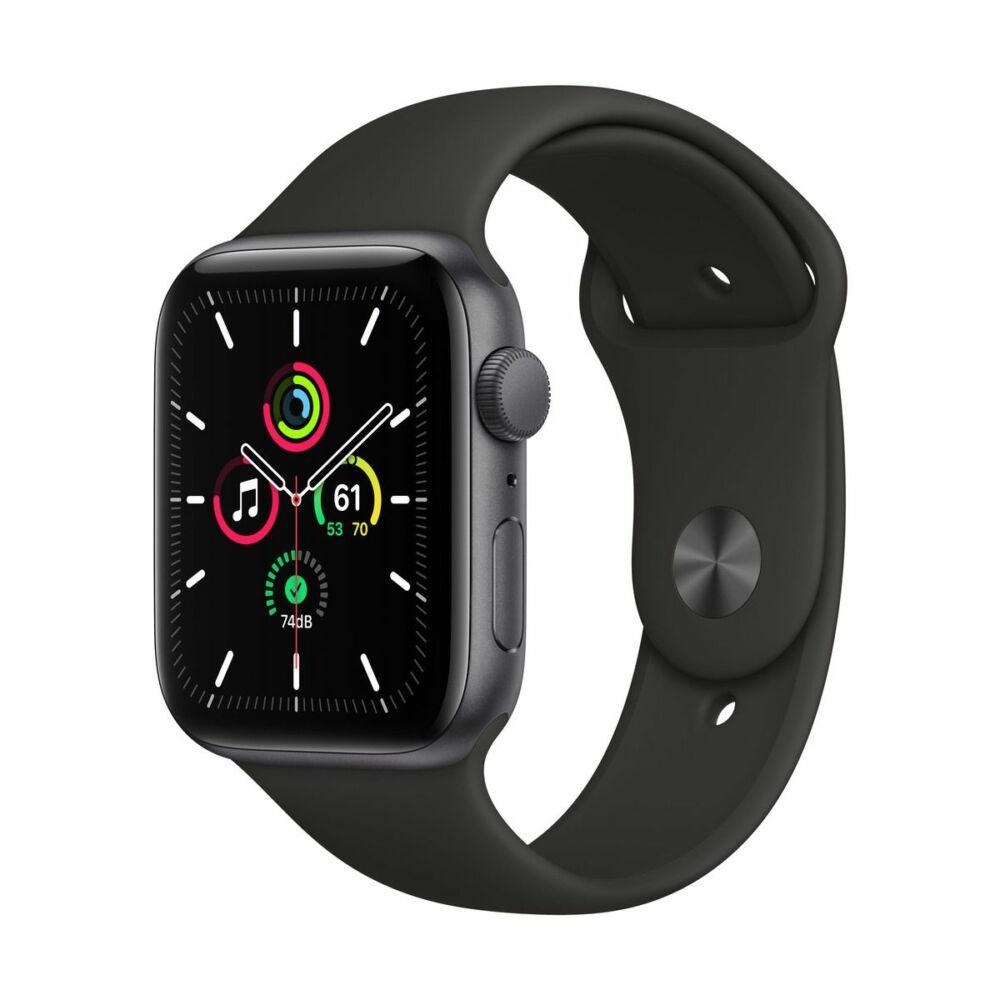 Apple Watch SE GPS 44mm Asztroszürke alumínium tok - sportszíjjal