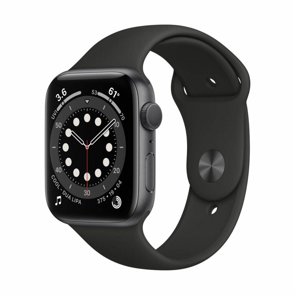 Apple Watch Series 6 GPS 44mm Asztroszürke Alumínium tok - sportszíjjal