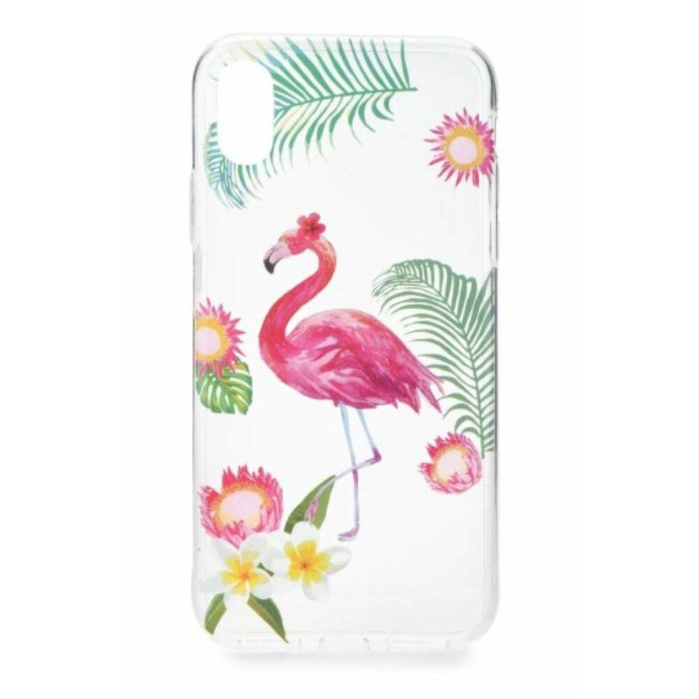Flamingós tok Iphone 7 Plus / 8 Plus készülékhez
