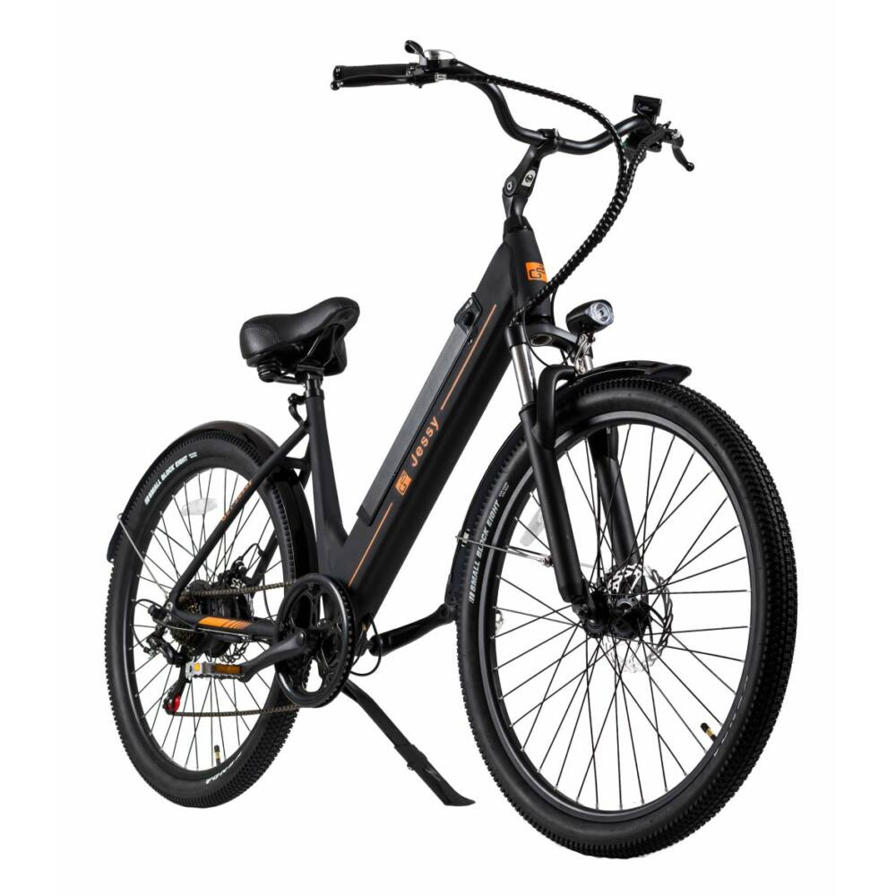 """G21 Jessy 27,5"""" fekete elektromos kerékpár"""
