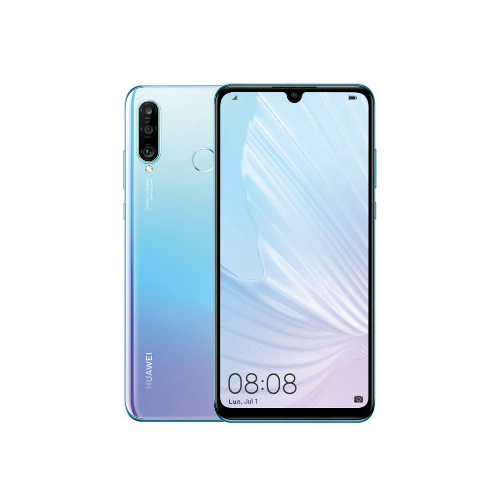 Huawei P30 Lite 256GB 6GB RAM Dual Jégkristály kék