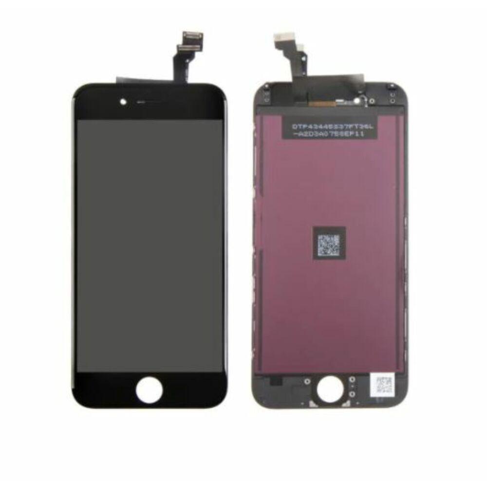 """LCD kijelző érintőpanellel - Apple iPhone 6 Plus 5.5"""" - kiváló minőségű, utángyártott - fekete"""