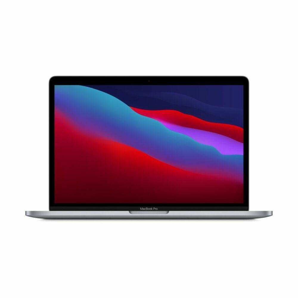 """Apple Macbook Pro 13.3"""" M1 8C CPU/8C GPU/8GB/256GB - Ezüst - HUN KB (2020)  MYDA2MG/A"""
