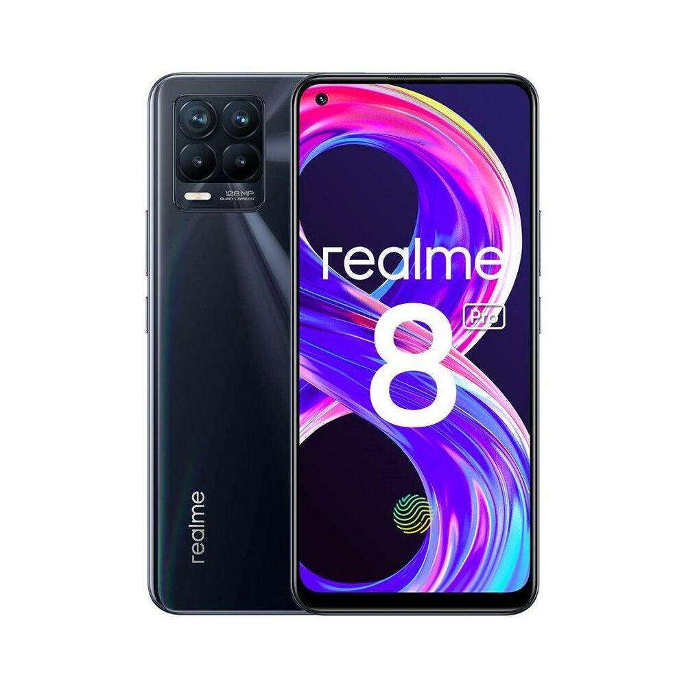 Realme 8 Pro Dual Sim 8GB RAM 128GB Punk Fekete