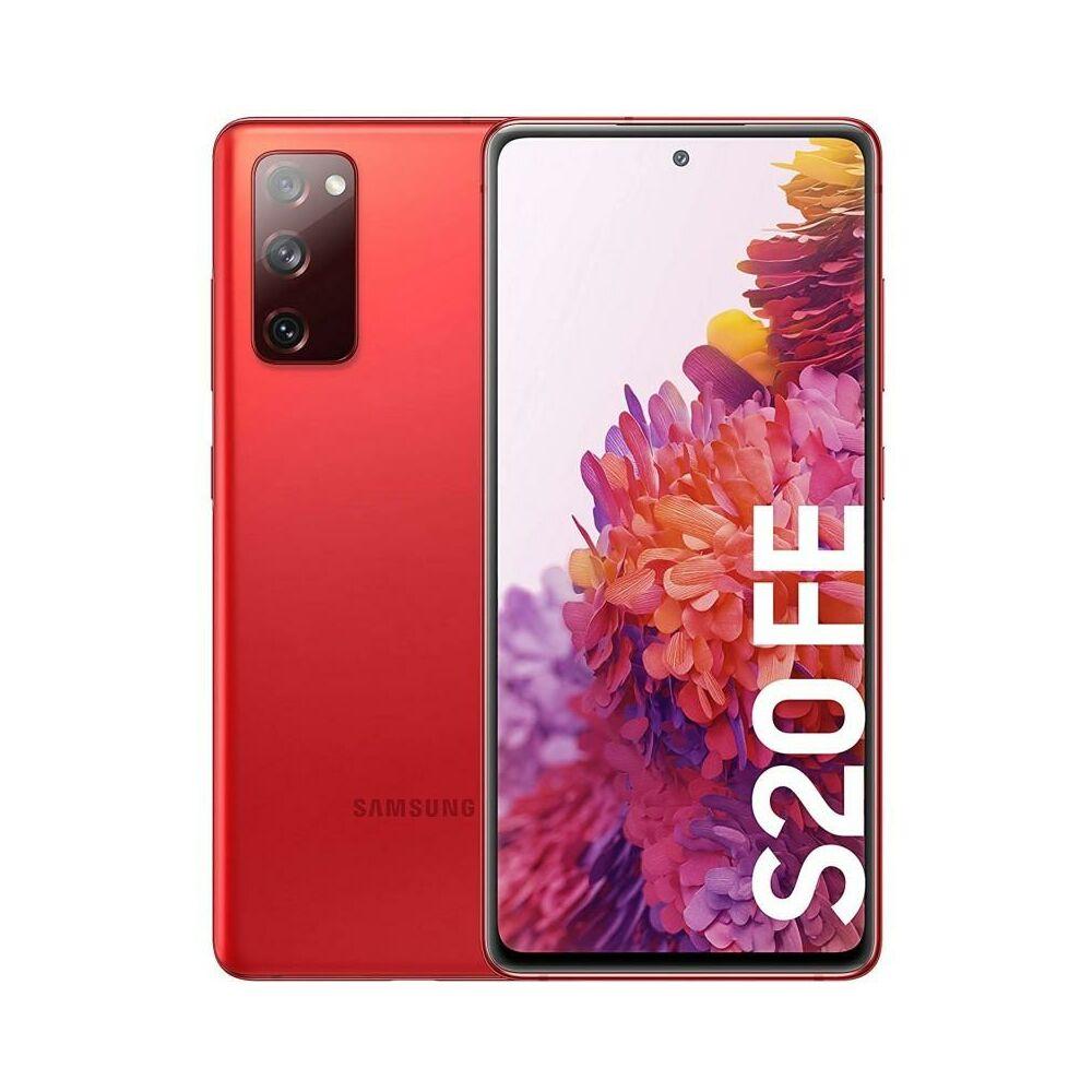 Samsung Galaxy S20 FE G780 Dual Sim 256GB Piros