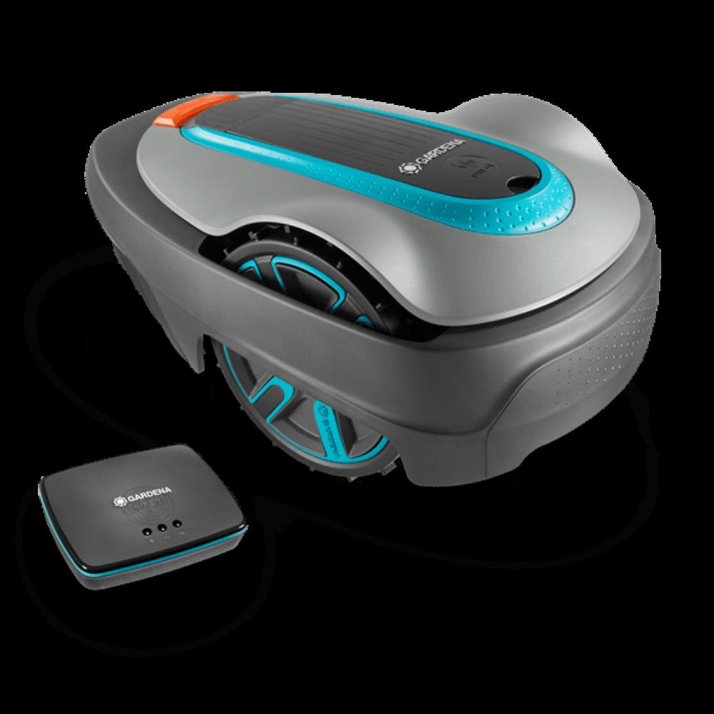 Gardena robotfűnyíró smart SILENO city, 250 készlet