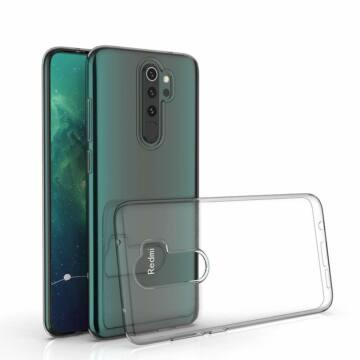 Xiaomi Redmi Note 8 Pro szilikon hátlap - Soft Clear - transparent (PT-5294)