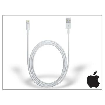 Apple iPhone 5/5S/5C/SE/iPad 4/iPad Mini eredeti, gyári USB töltő- és adatkábel 1 m-es vezetékkel - Lightning-MD818ZM/A