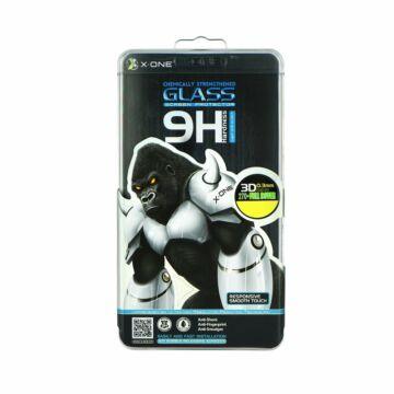 X-One Tempered Glass 3D Full Face Samsung S8+ Fekete üvegfólia