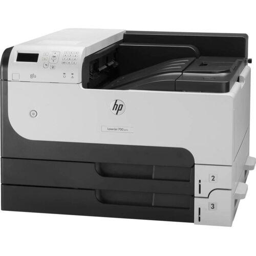 HP LÉZERNYOMTATÓ LJ ENTERPRISE 700 PRINTER M712DN A3, FEKETE, 512MB, USB/HÁLÓ, A4 41LAP/PERC FF, 1200X1200 #B19