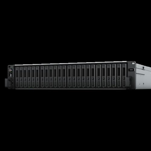 SYNOLOGY NAS 24 FIÓKOS FS6400 INTEL XEON SILVER 4110 X 2 8X2,1GHZ, 32GB DDR4, 2X1GBE, 2X10GBE