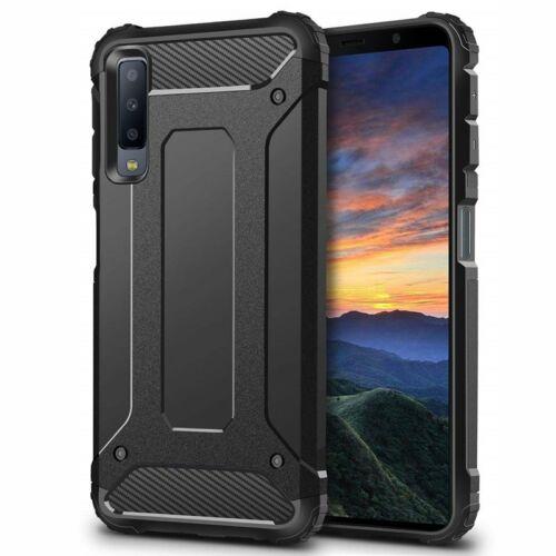 Forcell Armor Samsung Galaxy A7 (2018) Hátlap Tok - Fekete