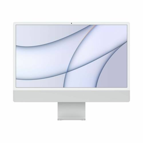 "Apple iMac 24"" Retina, 4.5K, M1 8C CPU/7C GPU, 8GB/256GB - Ezüst (2021)"