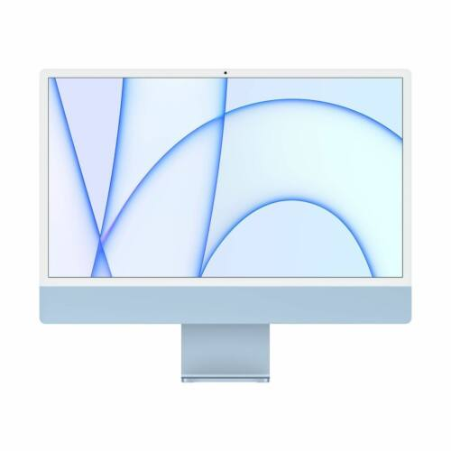 "Apple iMac 24"" Retina, 4.5K, M1 8C CPU/8C GPU, 8GB/512GB - Kék (2021)"
