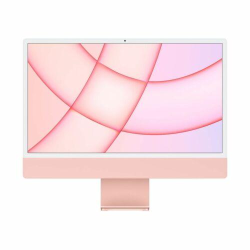 """Apple iMac 24"""" Retina, 4.5K, M1 8C CPU/8C GPU, 8GB/256GB - Rózsaszín (2021) MGPM3MG/A"""