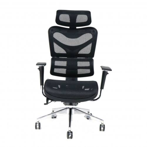 MOSH BS-702 fekete irodai szék