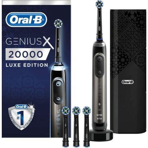 Oral-B Genius X 20000 Luxe Edition Anthracite Grey Elektromos Fogkefe