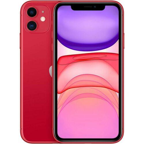 Apple iPhone 11 256GB Piros