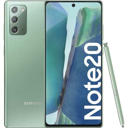 Samsung Galaxy Note 20 N980F Dual Sim 256GB Zöld