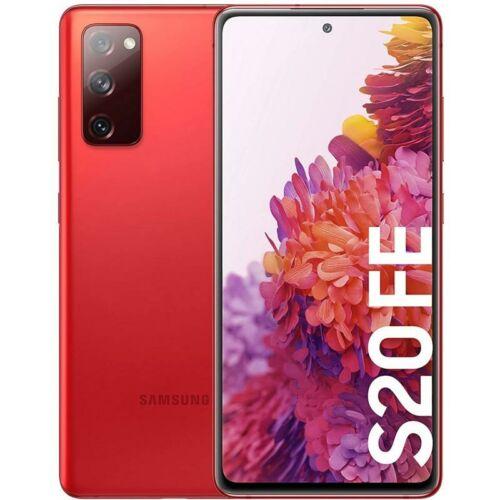 Samsung Galaxy S20 FE G781 5G Dual Sim 128GB Piros