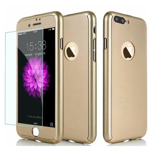 360 tok Iphone 7/8 PLUS készülékhez, arany