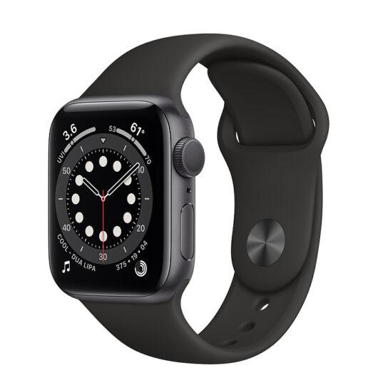 Apple Watch Series 6 GPS 40mm Grey Alumínum tok - sportszíjjal
