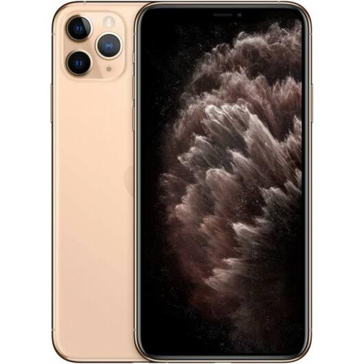 Apple iPhone 11 Pro Max LTE okostelefon - 64GB - 4GB RAM - Arany