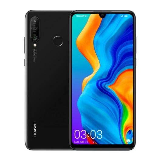 Huawei P30 Lite 256GB 6GB RAM Dual Fekete