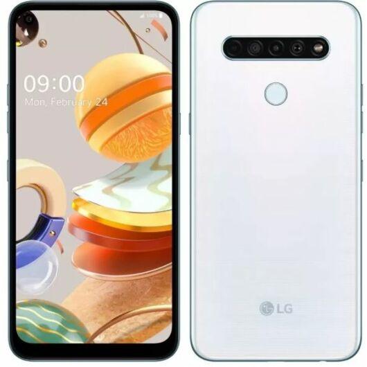 LG K61 Dual Sim 128GB Fehér