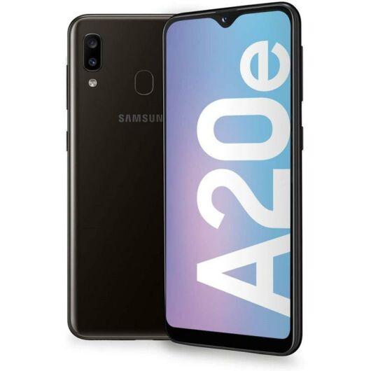 Samsung A20e A202 3GB Ram 32GB Dual Sim Fekete
