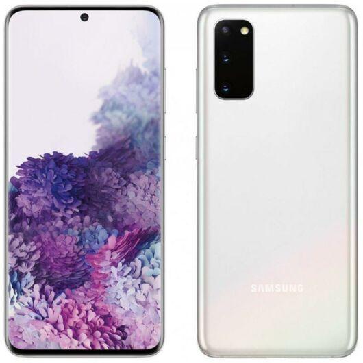 Samsung Galaxy S20 G981B 5G 128GB Dual Sim Fehér